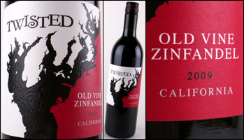 Twisted Old Vine Zinfandel
