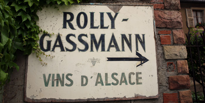 Rolly Gassmann ? Amazing wines from Alsace